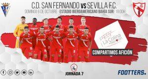 El San Fernando recibe al Sevilla Atlético