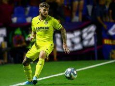 Alberto Moreno, durante un partido con el Villarreal | Imagen: MARCA