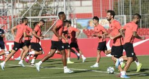 Entrenamiento del Sevilla en la Ciudad Deportiva   Imagen: Sevilla FC