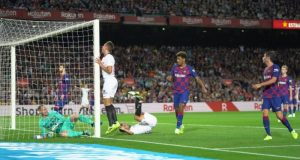 Imagen del partido entre Barcelona y Sevilla   Imagen: LaLiga