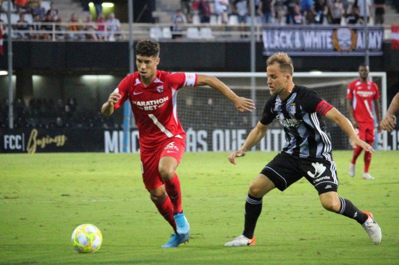 Pepe Mena, durante el encuentro ante el Villarrobleado   Imagen: Sevilla FC