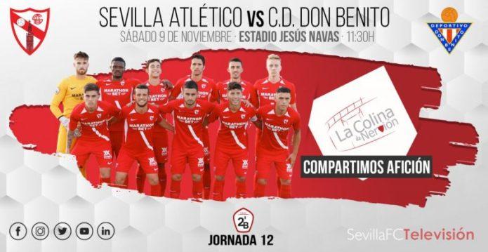 El Sevilla Atlético buscará volver a la senda del triunfo ante el Don Benito