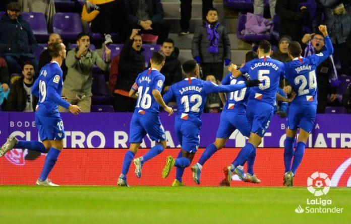 Banega, Ocampos y los ocho datos de la victoria en Valladolid