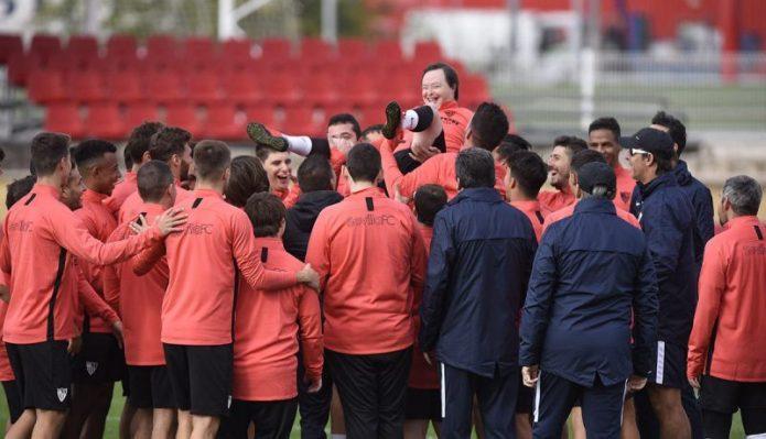 Salvador Bernal, sobre el Sevilla Genuine, la relación con el Betis, la integración, los objetivos y el día a día