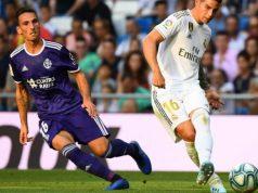 Fede San Emeterio, ex del Sevilla, en el partido del Valladolid frente al Madrid | Imagen: MARCA