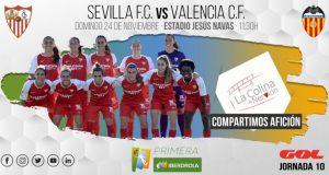 Previa Sevilla-Valencia Femenino