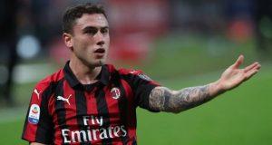 El nombre elegido: Davide Calabria y su precio: 15 millones || Imagen: AC Milan