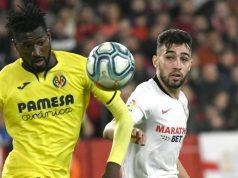 Munir jugando frente al Villarreal