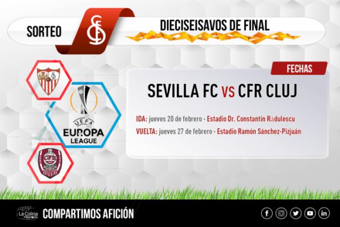 El CFR Cluj, rival del Sevilla en dieciseisavos de Europa League