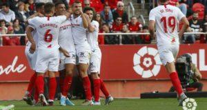 El gol que le dio los últimos tres puntos del año al Sevilla FC || Imagen: LaLiga