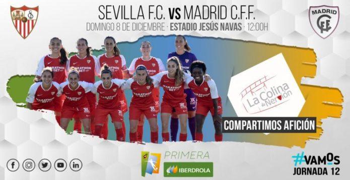 El Sevilla Femenino tratará de seguir con la racha positiva ante el Madrid CFF