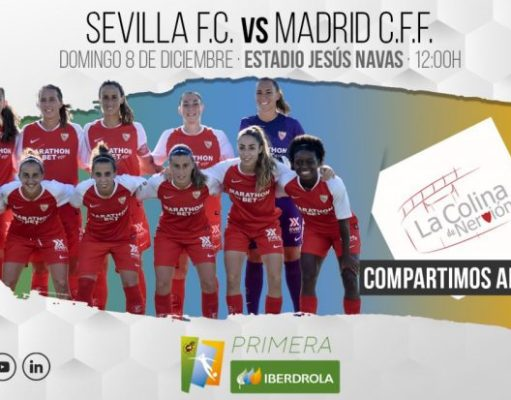 Imagen previa Sevilla - Madrid CFF Primera Iberdrola