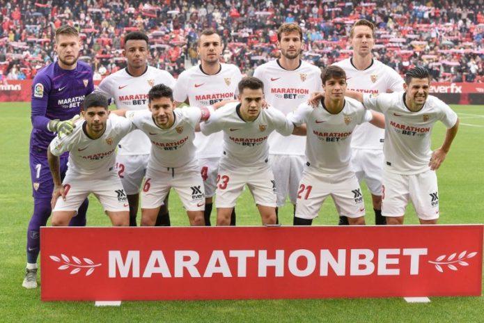 El once del Sevilla FC ante el RCD Mallorca