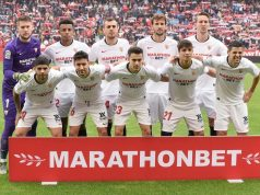 Once titular del Sevilla ante el Leganés