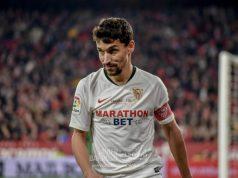 Jesús Navas, durante el partido del Sevilla ante el Granada | Imagen: La Colina de Nervión - Javier Barroso