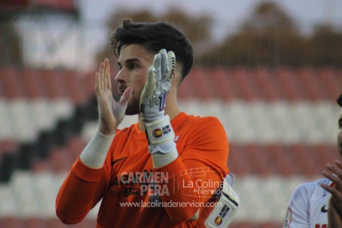 Alfonso, tras la victoria del Sevilla Atlético ante el Cartagena | Imagen: La Colina de Nervión - Carmen Pera