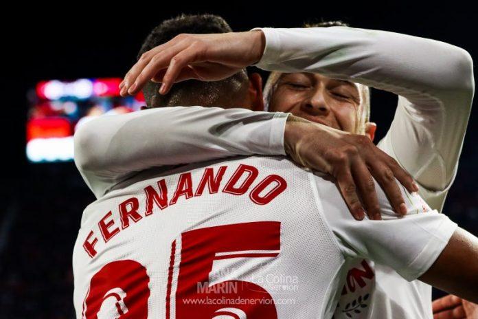 Fernando: «Espero estar en Sevilla FC el máximo tiempo posible»
