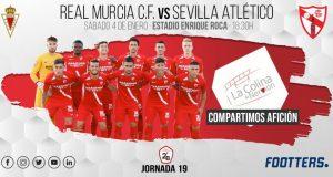 previa del partido entre el Murcia y el Sevilla Atlético