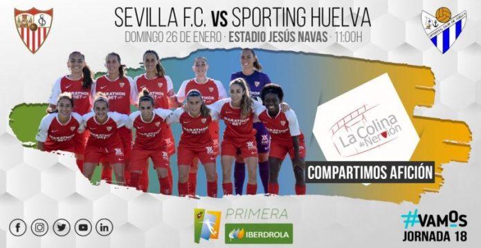 El Sevilla Femenino, a por el derbi andaluz ante el Sporting