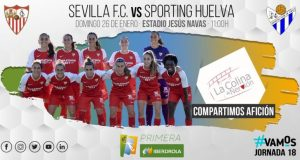 Previa del partido entre el Sevilla FC Femenino y el Sporting de Huelva