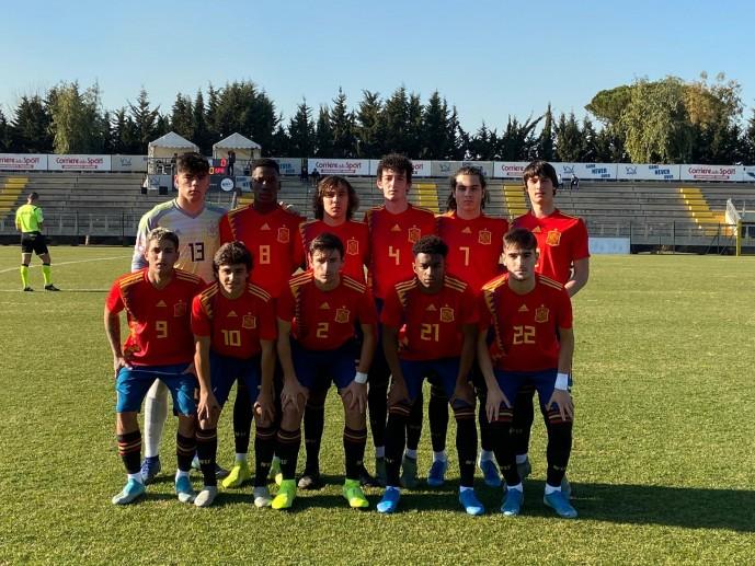 Protagonismo de la cantera del Sevilla con la sub-19 y la sub-17
