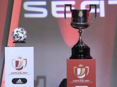 El balón y el trofeo se exhiben en cada sorteo de la Copa del Rey en el que estará el Sevilla FC | Imagen: RFEF