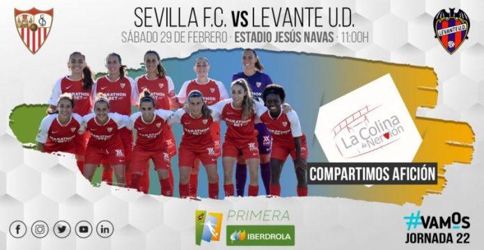 El Sevilla Femenino recibe al Levante tras la alegría de la Copa