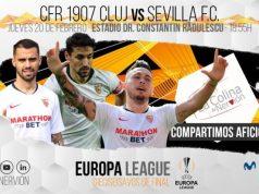 El Sevilla FC visita al Cluj en los dieciseisavos de la Europa League