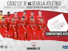 Previa del encuentro entre Cádiz B y Sevilla Atlético