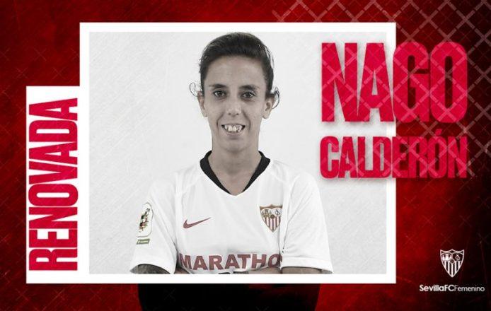 Un año más en el Sevilla FC  Femenino para Nagore Calderón
