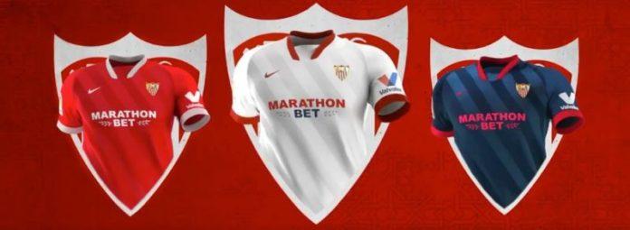 Las nuevas camisetas del Sevilla FC