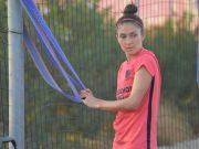 Entrevista Sevilla FC Femenino Natalia Gaitán Entrenamientos