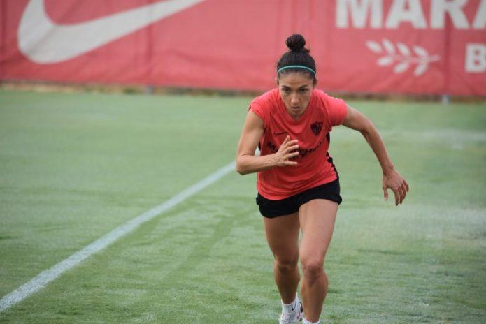 Natalia Gaitán y el Sevilla FC Femenino, unidos hasta 2022