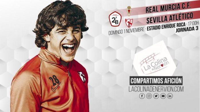 El Sevilla Atlético visita Murcia en busca de su primera victoria