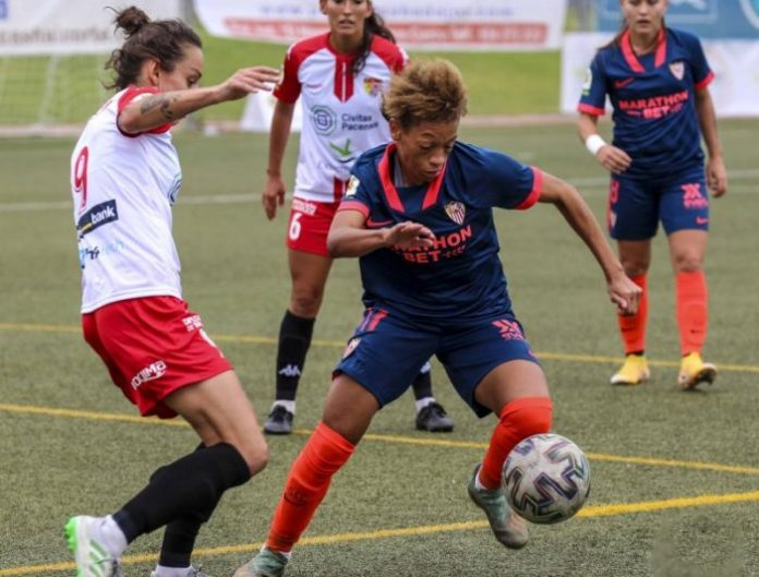sevilla fc fútbol club femenino zenatha coleman noticias