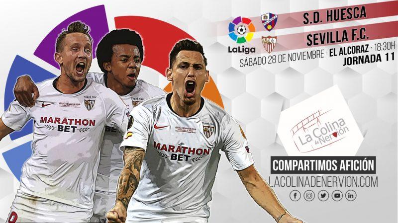 Previa partido SD Huesca Sevilla FC