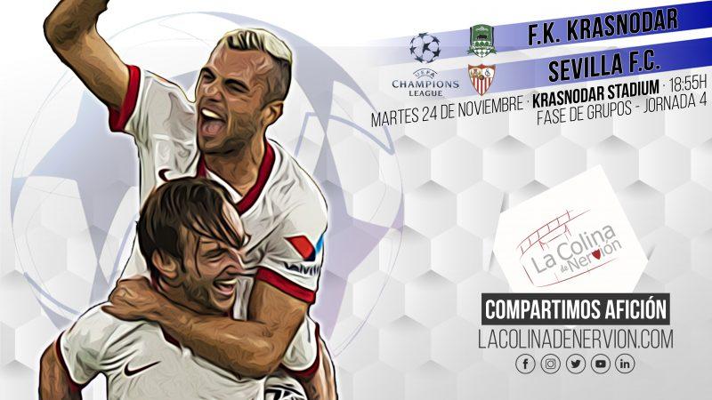 Previa partido Sevilla FC Krasnodar