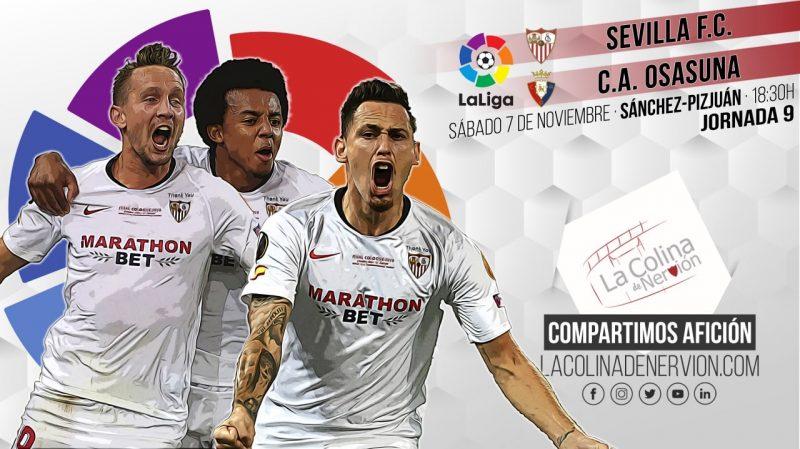 Previa del encuentro entre el Sevilla FC y el Club Atlético Osasuna de LaLiga