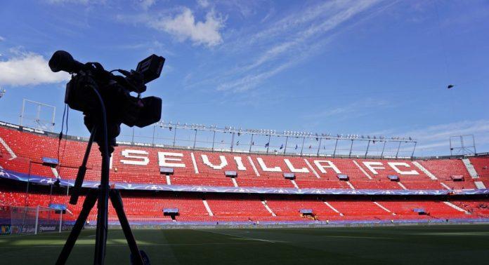 El Sevilla FC recibió 2,2 millones de euros menos en la temporada 19/20