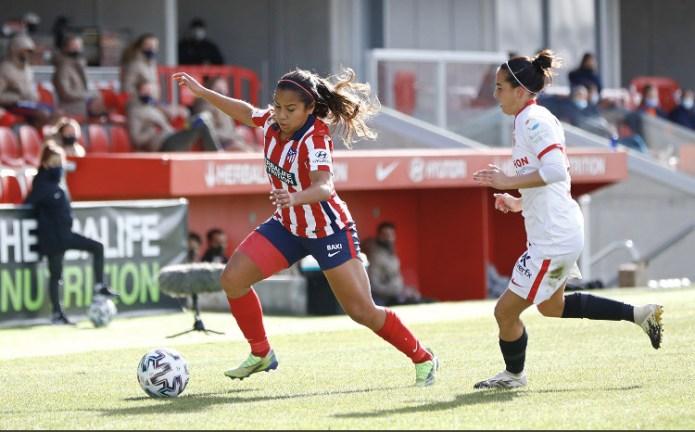 El Femenino se fue de vacío en su visita al Atlético de Madrid