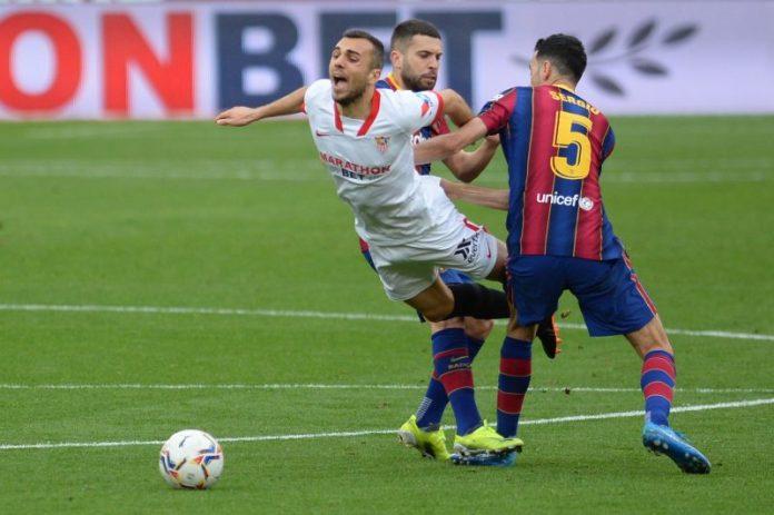 El Sevilla FC no quiere LaLiga y cae ante el FC Barcelona
