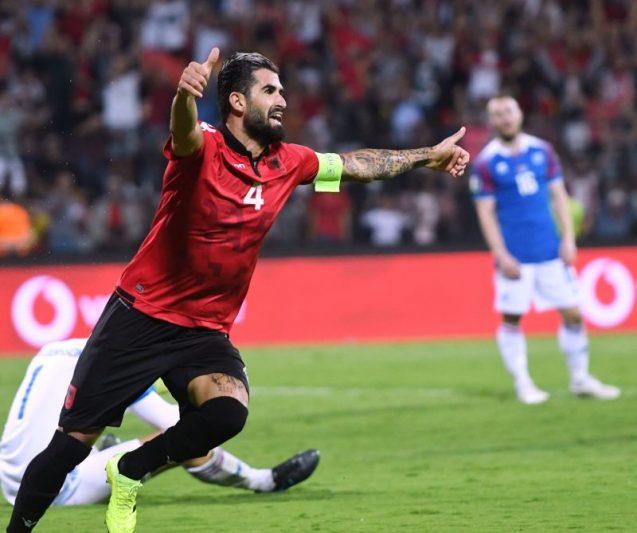 El Sevilla FC, atento a la situación de Elseid Hysaj