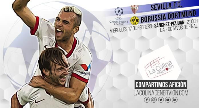 Previa del partido de Champions League entre el Sevilla FC y el Borussia Dortmund