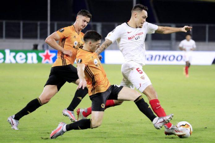 El Sevilla FC trata de renovar a Lucas Ocampos con la Premier al acecho