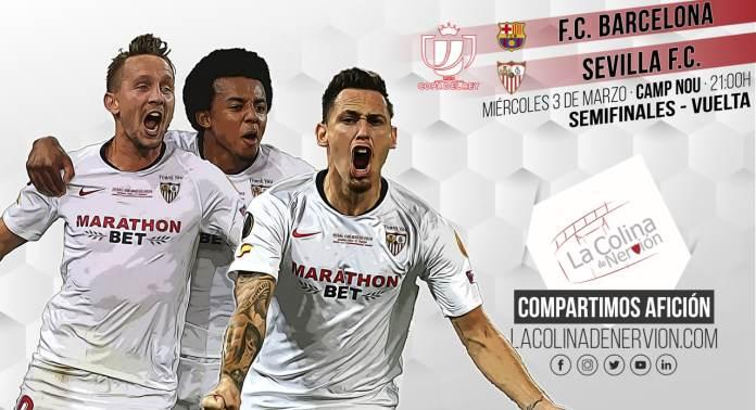 Previa del partido entre Sevilla FC y FC Barcelona