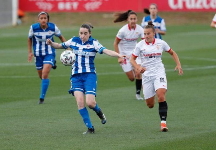 El Sevilla FC Femenino se lleva el partido ante el Dépor a base de efectividad