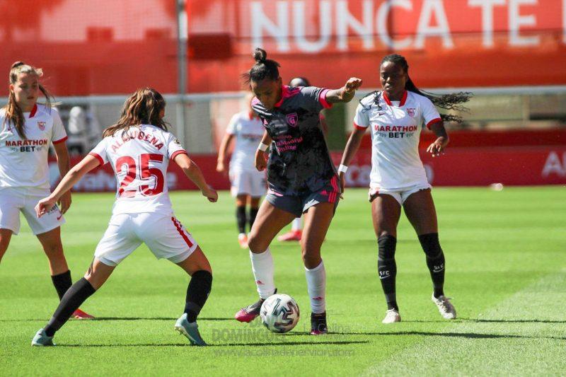 Partido Sevilla FC Femenino Madrid CFF