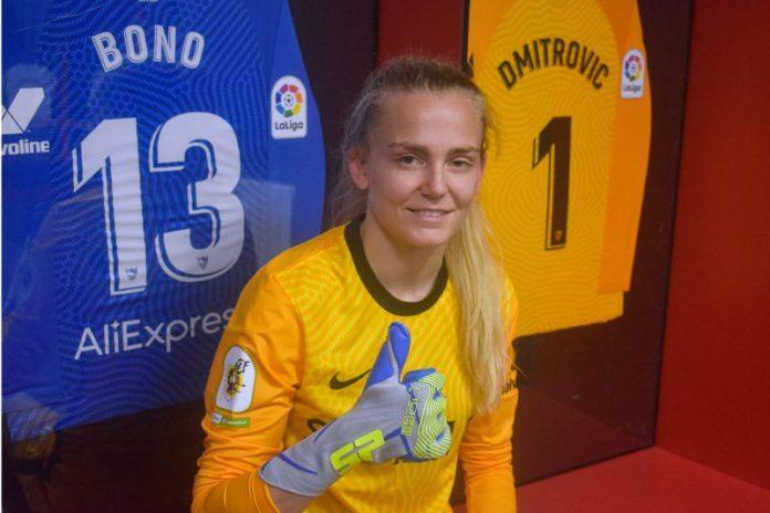Esther Sullastres, nueva portera del Sevilla FC