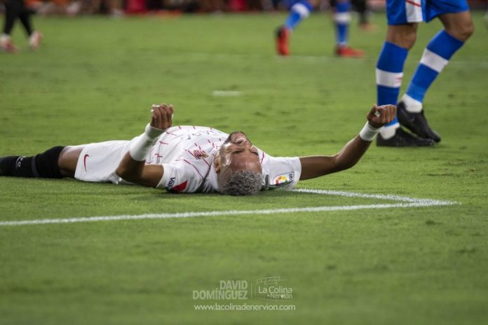 La victoria del Sevilla FC frente al Rayo Vallecano, en fotos