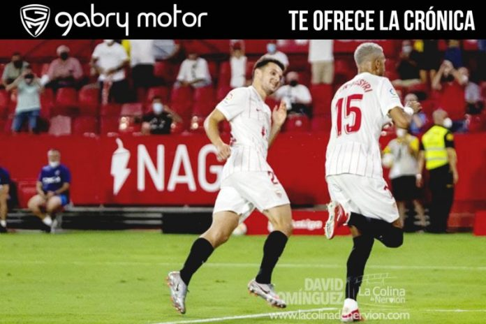 El Sevilla FC vence cómodamente al Rayo Vallecano